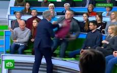 Nhà khoa học Ukraine, Nghị sĩ Đức định đánh nhau trên truyền hình Nga