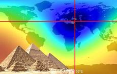 Bí ẩn của đại kim tự tháp Giza ở Ai Cập vừa được giải mã