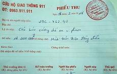 Làm rõ thông tin chủ phương tiện vi phạm ở Hà Nội phải trả 18 triệu phí cẩu xe