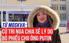 [Từ Moskva] Vì sao nhiều cử tri Nga chọn bỏ phiếu cho ông Putin?