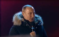 Phát biểu đầu tiên của Tổng thống Putin sau chiến thắng
