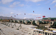 Quân đội Campuchia mượn tập trận chung với Trung Quốc để khoe trang bị tối tân