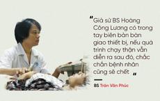 BS Trần Văn Phúc chỉ ra quan hệ NHÂN QUẢ - điểm mấu chốt trong vụ trọng án y tế ở Hòa Bình