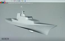 Mẫu tàu chiến hoàn toàn mới của HQVN: Có khả năng tàng hình và tên lửa phóng thẳng đứng?