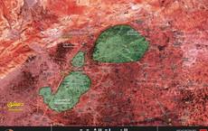 """Mỹ """"không cứu"""", nhóm thánh chiến lớn ở Đông Ghouta bị quân đội Syria vây khốn sụp đổ"""