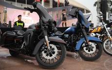 Hàng trăm chiếc xe Harley tiền tỷ diễu hành tại Hà Nội
