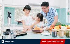 4 bài học tuyệt vời cha mẹ hãy dạy con ngay từ phòng bếp