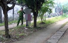 Người đàn ông tử vong trong tư thế treo cổ cạnh nghĩa trang