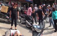 Chửi người đi đường, nam thanh niên bị đánh tới tấp