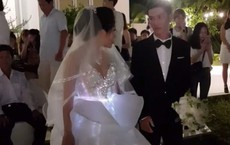 Cô dâu Bến Tre chịu chơi chi 200 triệu diện váy cưới phát sáng để lộng lẫy giống công chúa trong đám cưới