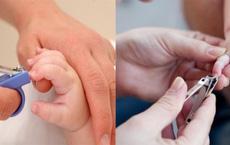 Hầu hết các bậc phụ huynh đều mắc phải 5 sai lầm 'kinh điển' khi cắt móng cho trẻ