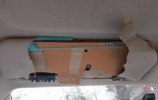 Toyota là hãng xe duy nhất sử dụng tấm chắn nắng bằng bìa carton 'thùng mỳ'?