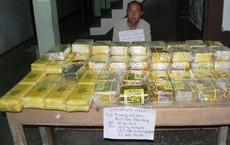 """Bắt """"ông trùm"""" vận chuyển 40kg ma túy dạng đá, 120.000 viên ma túy tổng hợp"""