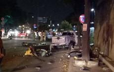 Xe bán tải tông hàng loạt xe máy, 7 người thương vong: Tài xế sử dụng rượu bia trước khi gây tai nạn
