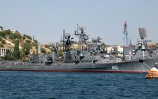 Răn đe tàu sân bay Mỹ đang áp sát Syria bằng 2 chiến hạm 40 năm tuổi: Nga đang nghĩ gì?