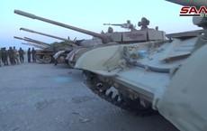Choáng với kho vũ khí khổng lồ quân thánh chiến Syria đầu hàng giao nộp