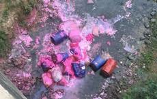 Tạm dừng cấp nước vì hóa chất lạ