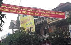 Băng rôn in sai năm giải phóng miền Nam, lãnh đạo phường nói do nhà in