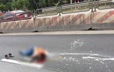 Nam công nhân kẻ vạch sơn đường bị ô tô đâm tử vong