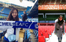 Fan nữ xinh đẹp của Chelsea dành cả thanh xuân thăm 14 SVĐ nổi tiếng nhất thế giới
