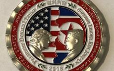 Truyền thông thế giới xôn xao vì đồng xu kỳ lạ kỉ niệm kì thượng đỉnh Mỹ - Triều Tiên