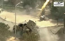 Pháo phản lực Syria chôn vùi khủng bố trong chiến tranh đô thị