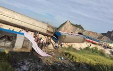 Vụ tàu hoả đâm xe ben ở Thanh Hoá: Tài xế xe ben đã tử vong