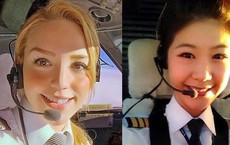 Chiêm ngưỡng nhan sắc xinh đẹp của những nữ phi công hot nhất MXH thế giới