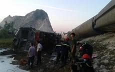 """2 lái tàu tử nạn trong vụ lật tàu kinh hoàng ở Thanh Hóa: """"Ngồi trên máy vẫy tay anh chào"""""""