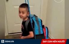 Con trai 5 tuổi muốn bỏ nhà đi, người mẹ chỉ hỏi vài câu, cậu bé đành phải thay đổi ý định