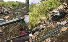 Xe tải lao xuống vách núi sâu hơn 70 mét, ba người thương vong