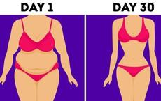 Loại bỏ mỡ bụng, tạo cơ 6 múi chỉ trong 30 ngày: Dáng đẹp không khó, khó là ở sự quyết tâm