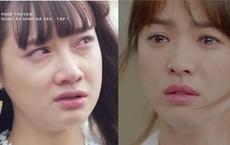 """Hình ảnh so sánh """"đẳng cấp"""" khóc của Nhã Phương - Song Hye Kyo gây tranh cãi gay gắt"""