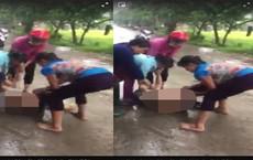 Người phụ nữ bị đánh ghen, lột đồ giữa chốn đông người
