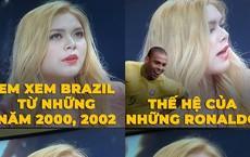 """Cô nàng cổ động World Cup bị """"ném đá"""" vì khoe xem Brazil từ năm 2000, thời còn... Pele"""