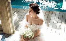 Á hậu Tú Anh chính thức lên tiếng về chuyện kết hôn, công khai ảnh chồng sắp cưới