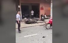 Clip: Hiện trường vụ nổ tại công an phường 12, quận Tân Bình