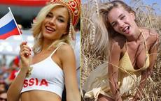 Nữ CĐV Nga xinh đẹp nhất World Cup: Là sao phim người lớn, đã đăng quang Hoa hậu