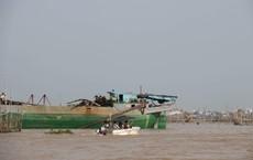 Tìm thấy thi thể đại uý công an mất tích trong vụ tai nạn trên sông Hậu