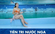 Cận cảnh vẻ nóng bỏng của MC mặc bikini dẫn World Cup gây xôn xao