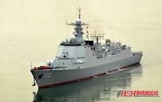 Tàu khu trục Trung Quốc đến gần eo biển, chiến đấu cơ, tàu chiến Đài Loan theo dõi sát sao