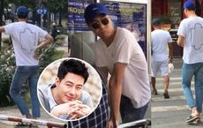 Tài tử Jo In Sung dạo phố Việt Nam: Khiến fan xao xuyến vì ngoại hình