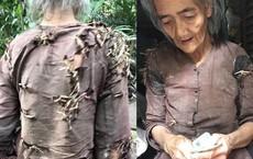 """Sự thật câu chuyện """"bà cụ sống trong vườn nhà hàng xóm, quần áo rách phải vá bằng rơm rạ"""" đang lan truyền dữ dội trên MXH"""