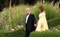 Đệ nhất phu nhân Tổng thống Mỹ lộ vẻ yêu kiều trong chuyến công du Vương quốc Anh