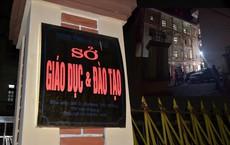 """An ninh """"vòng trong vòng ngoài"""" tại địa điểm rà soát bất thường về điểm thi ở Hà Giang"""