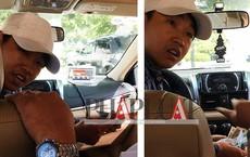 Nơi giấu tờ 500.000 đồng khó ngờ của tài xế taxi dỏm