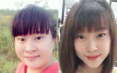 """Màn thay đổi """"vịt hóa thiên nga"""" sau 3 tháng của một người phụ nữ khiến mạng xã hội Việt xôn xao"""
