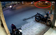 Theo dõi lại camera an ninh, sự việc xảy ra vào lúc 8 giờ tối khiến chủ nhà giật mình