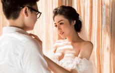Hé lộ chân dung chồng Á hậu Tú Anh trong bộ ảnh cưới lãng mạn