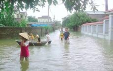Mưa lũ ngập nhiều tuyến đường ở Nghệ An, hàng chục người mất liên lạc